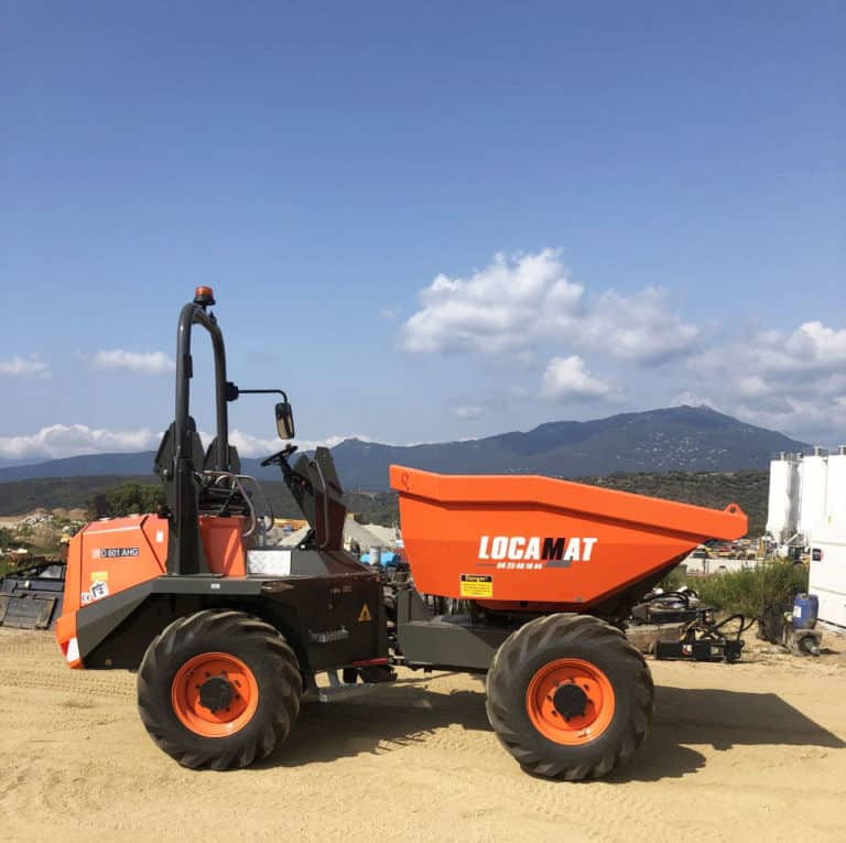 Location Mini Dumper Corse