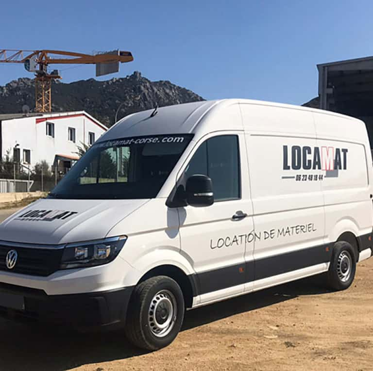 location camion fourgon corse